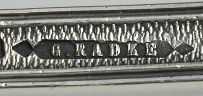 Firma Radke, Warszawa, cecha kupiecka